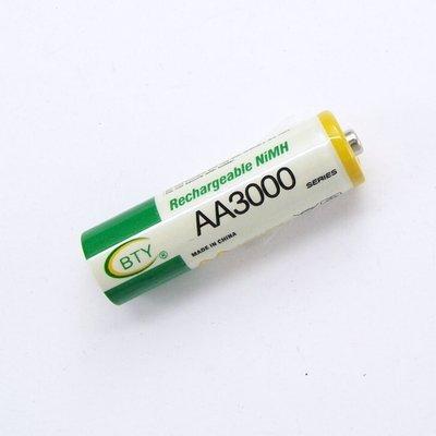 沙鹿批發 BTY 3號AA 鎳氫充電電池 AA3000 另有1.5v充電鋰電池 非14500 3.7v 3.2V鋰鐵 台中市