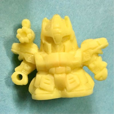 郵寄交收中古扭旦 單色扭蛋 MSR-100S 百式 黃色 SD 淨色 機動戰士Z ZZ 高達 GUNDAM 元祖1389