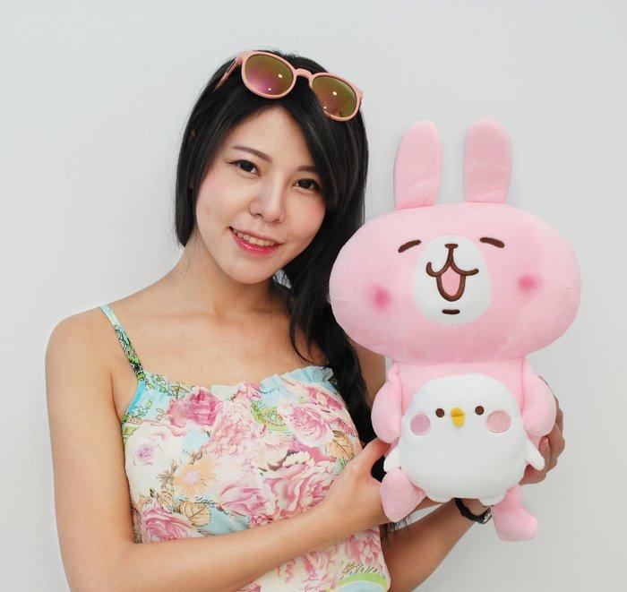 卡娜赫拉的小動物娃娃~正版授權~可愛萬物論~卡娜赫拉兔子~兔兔/p助小雞~熱門商品