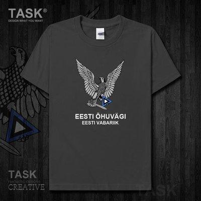 愛沙尼亞Estonia空軍純棉短袖T恤國家軍裝保衛部隊衣服 city