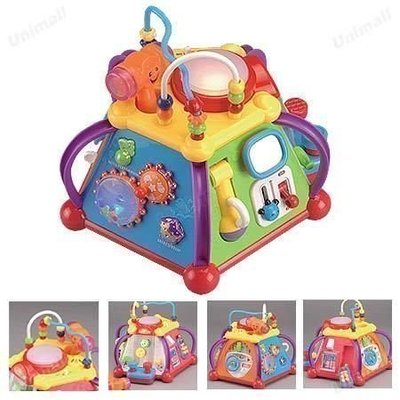 *歡樂屋*.....//多功能超有趣15合一六面音樂智慧盒//.....幼幼baby最愛