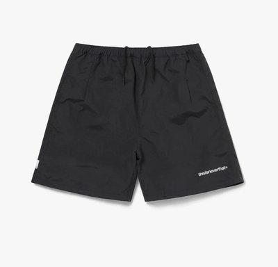thisisneverthat Jogging Short 尼龍短褲Tn21sso008-blk。太陽選物社