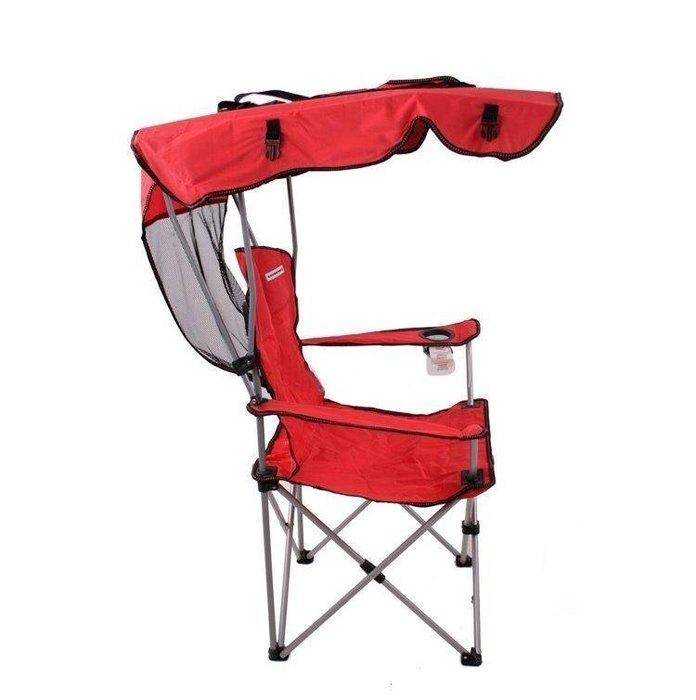 【格倫雅】^戶外便攜折疊椅 椅子 遮陽椅 釣魚椅子凳子 頂篷款 戶外露營用品34646