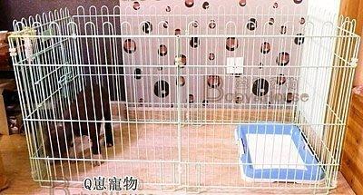 【德興生活館】寵物柵欄狗籠子組合式 泰迪小狗圍欄 加粗鐵籬笆小型犬狗圍欄