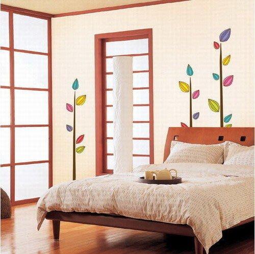 【皮蛋媽的私房貨】韓國進口壁貼&壁紙*室內設計/裝飾*普普風彩色小樹苗