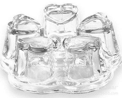 ~自在坊~心型 花茶壺保溫底座 加厚玻璃水果茶加熱座 保溫盤 蠟燭保溫爐座 咖啡壺 咖啡器具