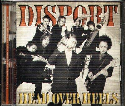 K - DISPORT - HEAD OVER HEELS - 日版