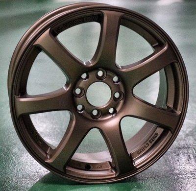 全新鋁圈 wheel YH01 15吋鋁圈 4孔100 4孔114.3 平光古銅