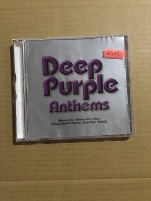 *還有唱片二館*DEEP PURPLE / ANTHEMS 二手 A1027 (下標幫結)