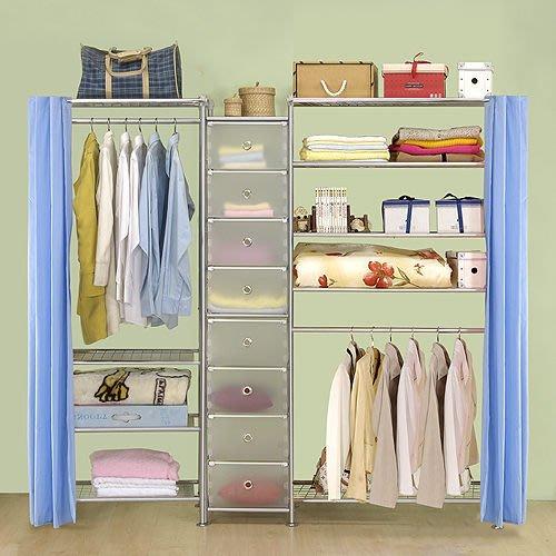 【中華批發網DIY家具】D-62C-05-W4型60+pp+W5型90衣櫥置物櫃-(前罩)不織布