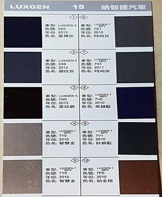 艾仕得(杜邦)Cromax原廠配方點漆筆.補漆筆LUXGEN U7 SUV 時尚灰 色號:7X1