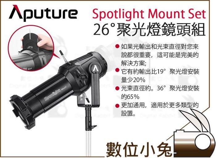 數位小兔【Aputure 愛圖仕 聚光燈鏡頭組 Spotlight Mount Set 26°】公司貨 聚光燈 26度