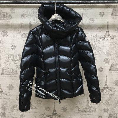 ~阿醬精品~巴黎直送。 頂級爆暖款 Moncler超級顯瘦💕黑亮短版羽絨外套
