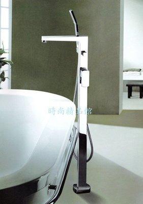 【時尚精品館-龍頭】Bettor --- Gallant 方型 立柱式浴用龍頭 (含蓮蓬頭,軟管)