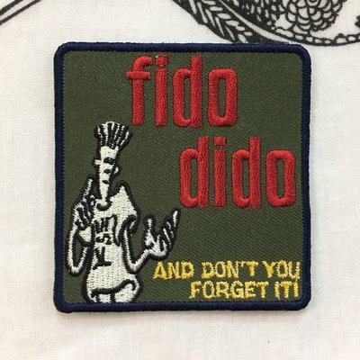 刺繡臂章 Fido dido a3