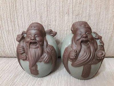 天使熊小舖~手工陶瓷藝品 土地公與財神...