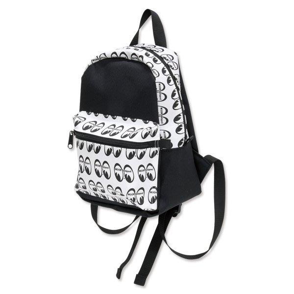 (I LOVE 樂多) MOON Equipped MOONEYES 滿版LOGO 後背包 背包 出遊包 孩童包 媽媽包