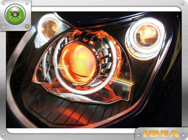 泰山美研社2097 光圈 天使眼 魚眼 FORTIS FOCUS BMW E36 E39 E46 GOLF A3 A4 E90 E92 F10 W204