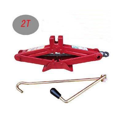 【車用剪式手搖式千斤頂-負重2噸-1套/組】汽車修車工具拆裝換輪胎工具-527009