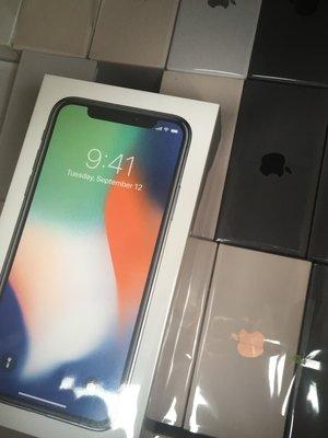 [蘋果先生] iPhone X 64G 黑銀兩色 蘋果原廠台灣公司貨 三色現貨 新貨量少直接來電