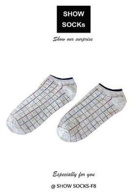 【4雙】S-SOCKs 格子系列-短襪子 短襪 棉襪 女襪 男襪 學生襪 長襪 船型襪 隱形襪 可愛襪 毛襪