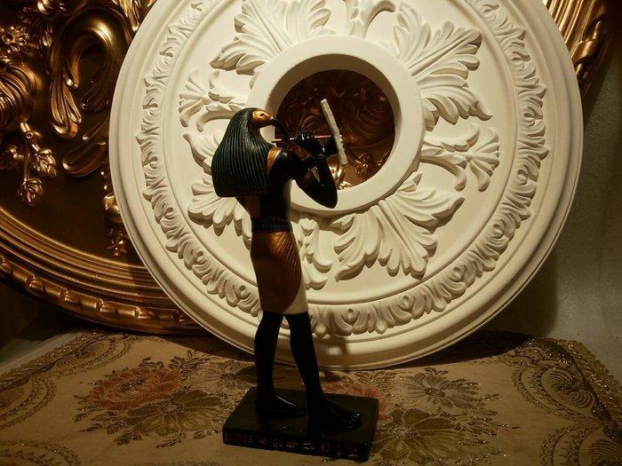 [ Vero 手工彩繪-托特神21CM 神話中智慧和學習之神]-雕像 擺 飾-Egypt 埃及古文明.【預訂品】