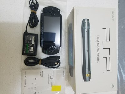 PSP 10000主機 黑色 使用美品 made in china