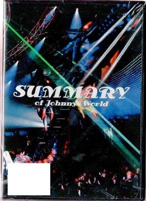 SUMMARY OF JOHNNYS WORLD 台版DVD 3區 再生工場1 03