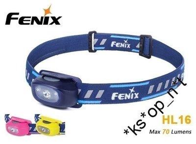{MPower} Fenix HL16 Cree XP-E2 R3 LED 70流明 頭燈 Head light 2A AA 電筒 ( 中白光, 紅光 ) - 原裝行貨