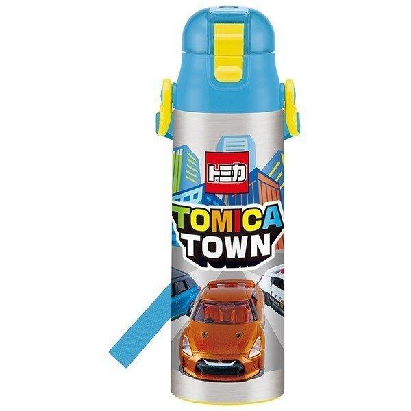TOMICA 車車  超輕量不鏽鋼 保冷水壺 580ml 直飲式  保冷杯 環保杯 400674 正版 通販