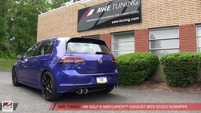 =1號倉庫= AWE Tuning Audi 3.0T Non-Resonated 當派