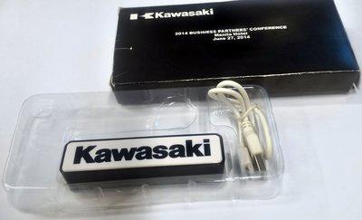 KAWASAKI 川崎重工 行動電源 盒裝完整 極具收藏意義
