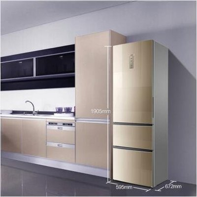 【興達生活】Casarte/卡薩帝 BCD`359WDCQ 359升風冷無霜三門家用電冰箱