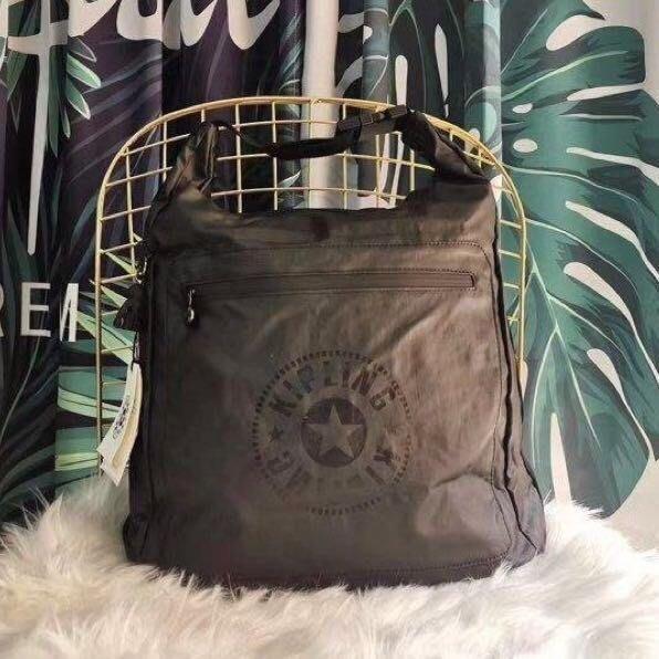 Kipling K14537 時尚黑拉鍊款 原始黑 猴子包 手提輕量雙肩後背包 大容量 防水 限時優惠