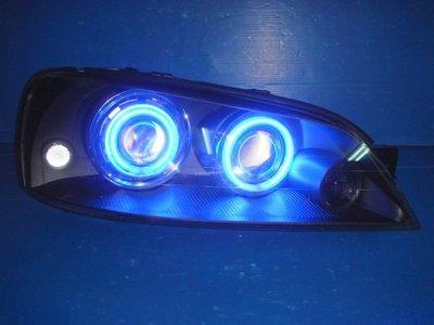 小亞車燈╠ 全新手工版 TIERRA LS RS SE AERO 藍 光圈 CCFL 魚眼 大燈
