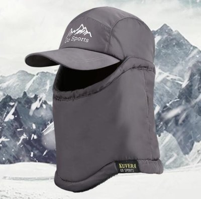 保暖頭套騎車防風帽全臉戶外口罩騎行面罩