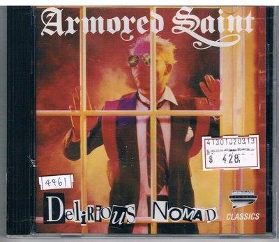 [鑫隆音樂]西洋CD-ARMORED SAINT裝甲聖徒:Delirious Nomad精神錯亂的流浪人(全新) 免競標