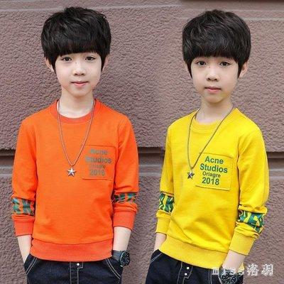 中大尺碼男童長袖T恤新款男孩秋裝上衣10兒童11體恤12歲13打底衫 js9547