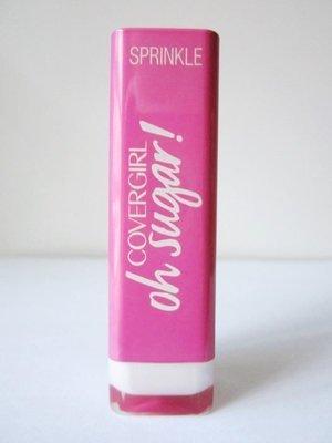 美國知名彩妝品牌【COVERGIRL】封面女郎 Oh sugar! 唇膏 口紅 8號 SPRINKLE 3.5g 全新現貨
