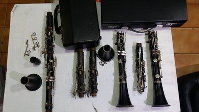 ﹝鐵嘴銅管屋﹞二手樂器一丘比特JUPITER零件豎笛\BUFFET零件豎笛