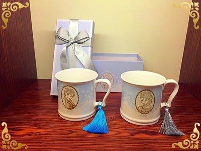 [巨蛋通日貨] 迪士尼正貨 冰雪奇緣 艾莎&安娜對杯禮盒Elsa&Anna mugs from FROZEN #152