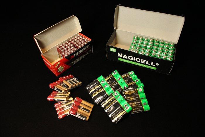 佳佳玩具 ----- 玩具專用 高容量 3號 4號 碳鋅 環保 綠能 電池  一盒15排共60顆 此賣場為整盒購買下標處
