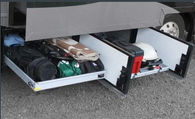 DJD19042435 露營車用配件 車用置物滑軌收納架 國外預定進口品 依當月報價為主
