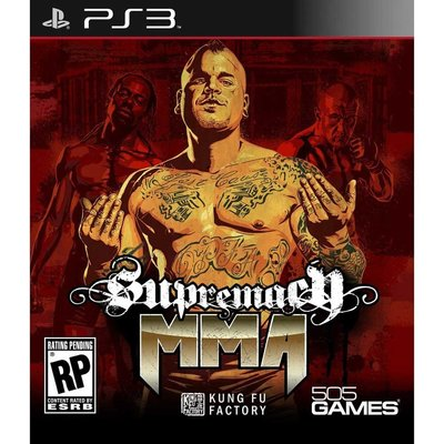 (現貨全新已拆)PS3 MMA 霸主SUPREMACY MMA 英文美版
