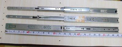 『YT五金』川湖 KingSlide 50cm下標賣場 窄版(輕型)三節 3J01 可拆抽中單向全開鋼珠滑軌 櫥櫃 抽屜