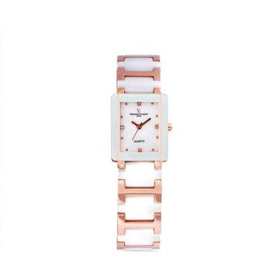 9B 61222RG-1L 愛戀櫻花半陶瓷手錶手表范倫鐵諾古柏 Valentino Coupeau