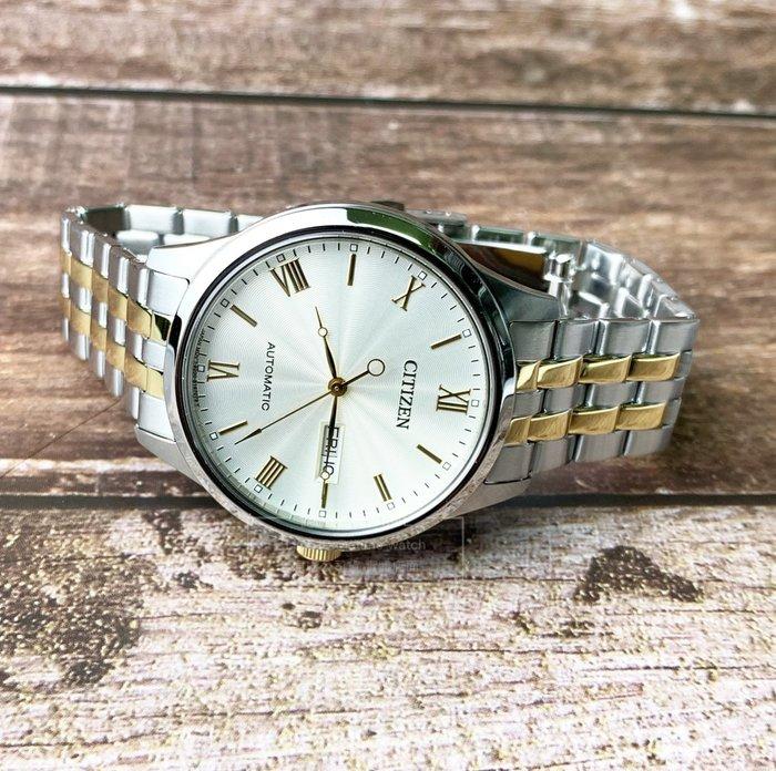 CITIZEN NH7506-81A 機械錶  經典 復古 男錶 原廠公司貨 羅馬時標