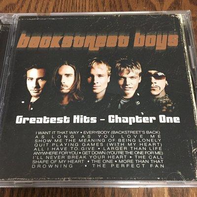 [老搖滾典藏] Backstreet Boys-Greatest Hits Chapter One 日版精選輯