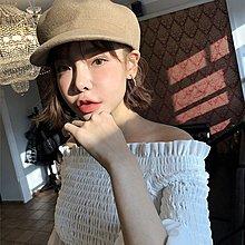 一字領*Sunny Girl*韓國Red velvet Irene露肩長袖雪紡杉 2019三月新款 - [TL0389]
