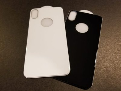 TESSA品牌 Iphone X 背玻璃貼 (0.4mm) (送德國 CeNano 納米鍍膜一次)($130 2 張)
